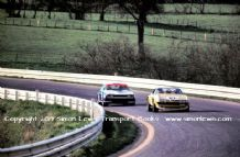 Ferrari 365 GTB4 Daytona and Capri RS3100 Spa 1973